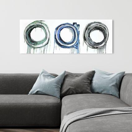 Trio of circles