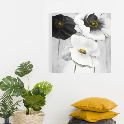 Assorted white flowers