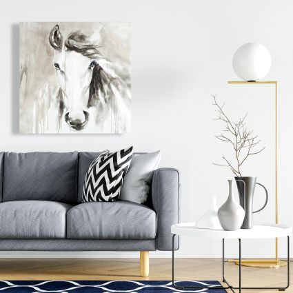 Beautiful abstract horse