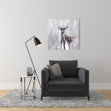 Abstract deer in the forest