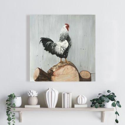 Wyandotte rooster