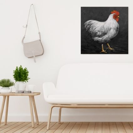 Grey rooster 2