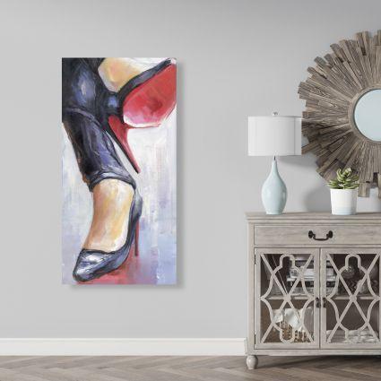 Crossed legs and high heels 2