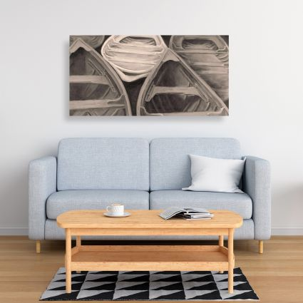 Sepia canoes