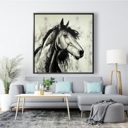 Framed 48 x 48 - Spirit horse