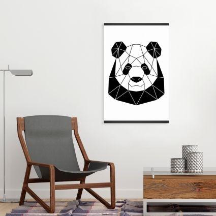 Geometric panda
