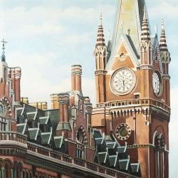 St-pancras station in london