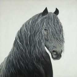 Wild heart horse