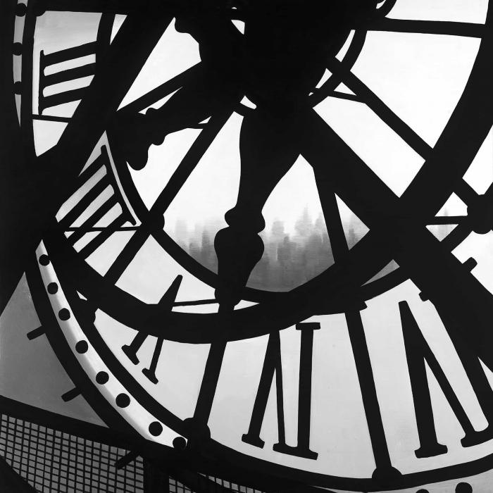 Giant clock in orsay museum