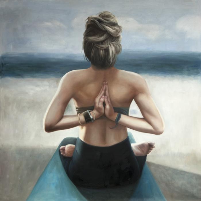 Position de prière inversée