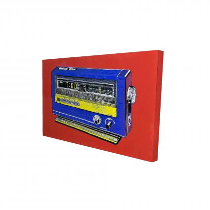 Retro radio alarm