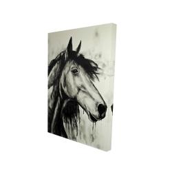 Canvas 24 x 36 - 3D - Spirit horse