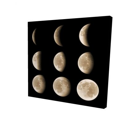 Eclipse in nine phases