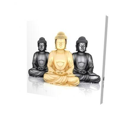 Trio of buddhas