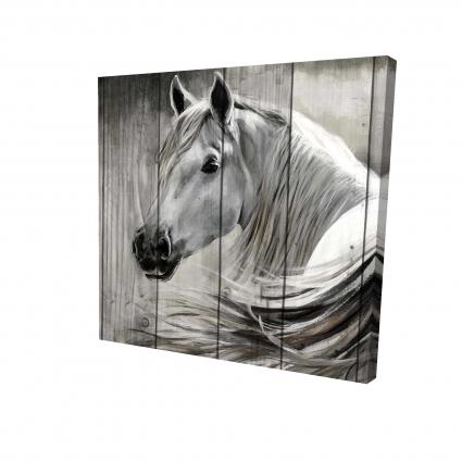 Rustic horse