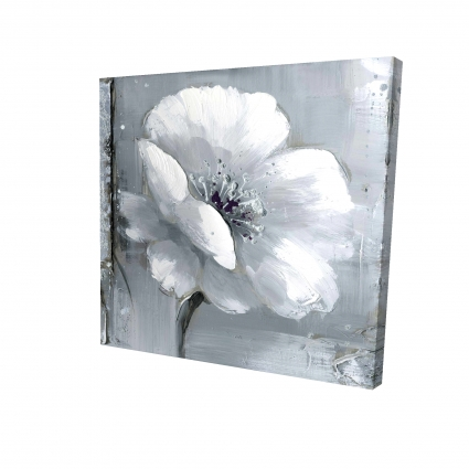 Gray & white flowers
