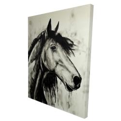 Canvas 36 x 48 - 3D - Spirit horse