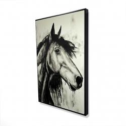 Framed 24 x 36 - 3D - Spirit horse