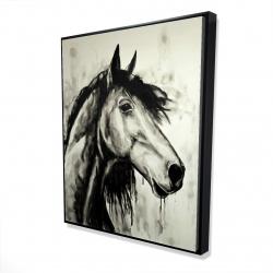 Framed 48 x 60 - 3D - Spirit horse