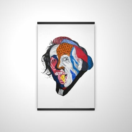 Abstract albert einstein